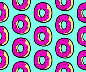 apple, cool, and donuts image
