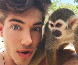 boy and animal image