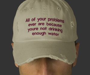 water, problem, and quotes image