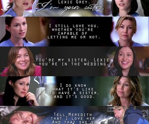 meredith grey, sisters, and grey's anatomy image