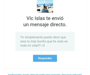 twitter, mensaje, and love image