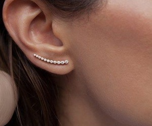 earrings, fashion, and style image