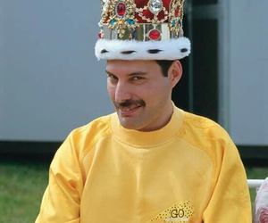 Queen, Freddie Mercury, and king image