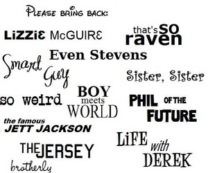 disney, disney channel, and 90's kids image