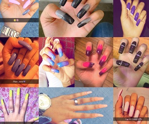different, nails, and styles image