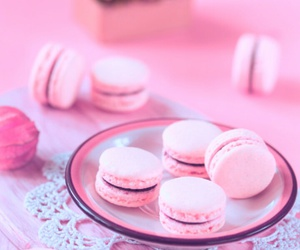 sweet, food, and macaroons image