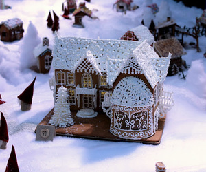 amazing, christmas, and gingerbread house image