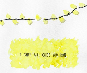 quote, light, and coldplay image