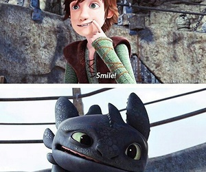 smile, dragon, and quote image