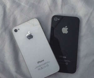 iphone, 4, and black image