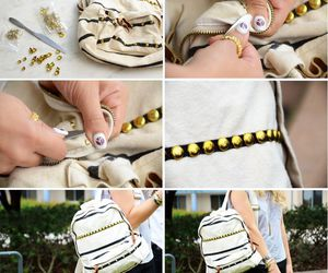 diy, back to school, and mochilas image
