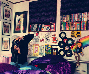 room, bedroom, and camera image