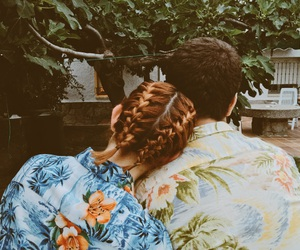 braid and flowers image