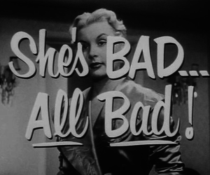 bad, vintage, and black and white image
