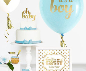 baby shower favors, cake topper, and cake toppers image
