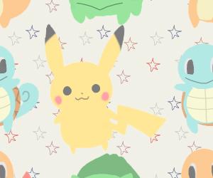 pokemon, pikachu, and background image