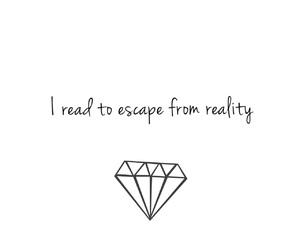 books, read, and escape image