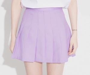 skirt, fashion, and purple image