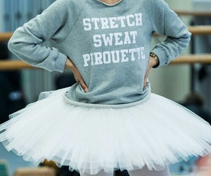 ballet, dance, and sweat image