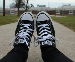 black, quality, and shoes image