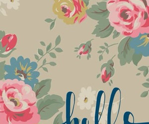 colors, flores, and hello image