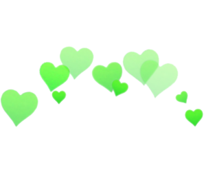 overlay, png, and hearts image