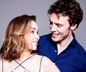 emilia clarke, sam claflin, and me before you image