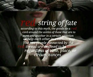 otp, red string, and teen wolf image