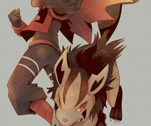 fan art, pokemon, and anime boy image