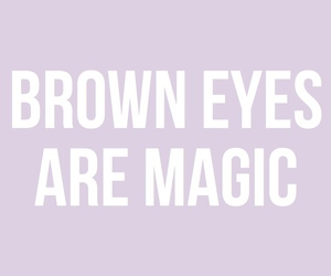 magic, brown, and brown eyes image