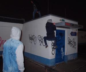 grunge, night, and boy image