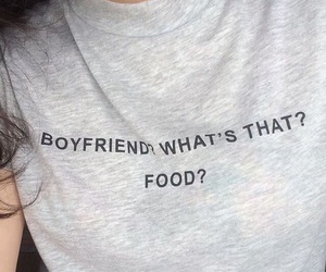 boyfriend, food, and clothes image