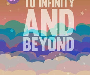 infinity, beyond, and toy story image