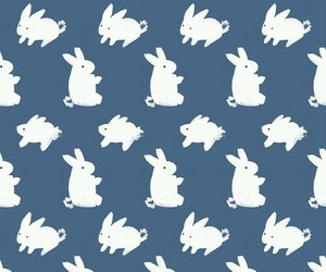 bunny, wallpaper, and rabbit image