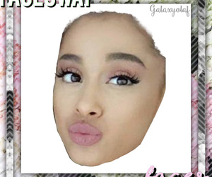ariana, ariana grande, and faceswap image