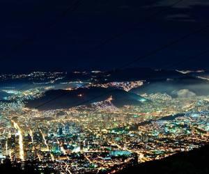 light, city, and caracas image
