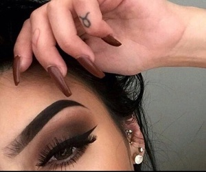 beautiful, flawless, and makeup image