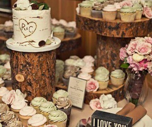 wedding, cake, and country image