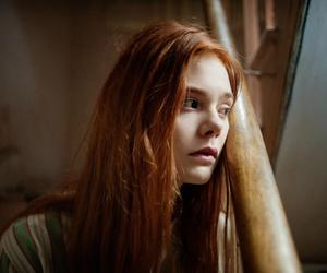 Elle Fanning and redhead image