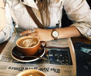 coffee, cafe, and coffee break image