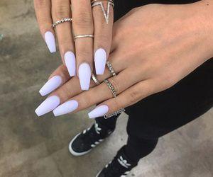 nails, adidas, and rings image