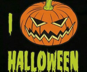 Halloween, holiday, and jack-o-lantern image