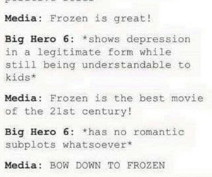 frozen, media, and movie image