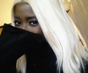 blonde, platinum, and white image
