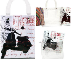 luxury designer handbags, transparent bags for sale, and transparent bags online image