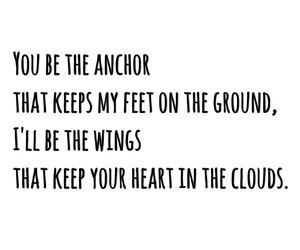 anchor, love quotes, and quotes image