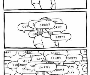 sorry, tumblr, and sad image