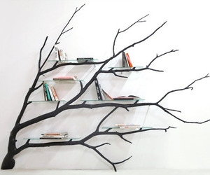 book, tree, and diy image