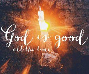 god, love, and good image