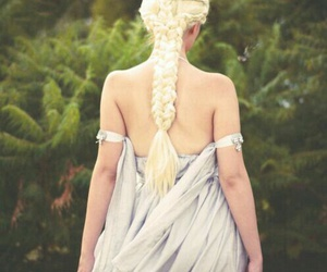 game of thrones, hair, and braid image